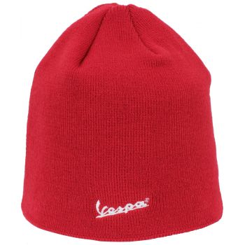 New Era Vespa Essential Knit Scull Beanie, kapa, crvena