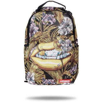 Sprayground 24K DIAMOND LIPS, ruksak, zlatna
