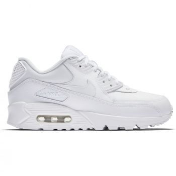 Nike Air Max 90 LEATHER, ženske sportske tenisice, bijela, AIR MAX 90