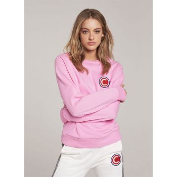 Colmar SWEATSHIRT WITH LARGE LOGO, ženski pulover, roza