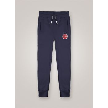Colmar FLEECE TROUSERS WITH LARGE LOGO, muške hlače, plava